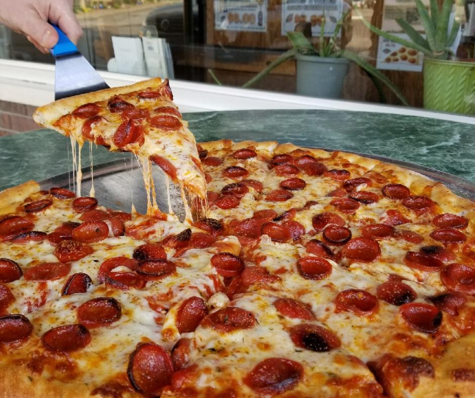 Slice of Pizza Good Guys Pizza Chili,NY