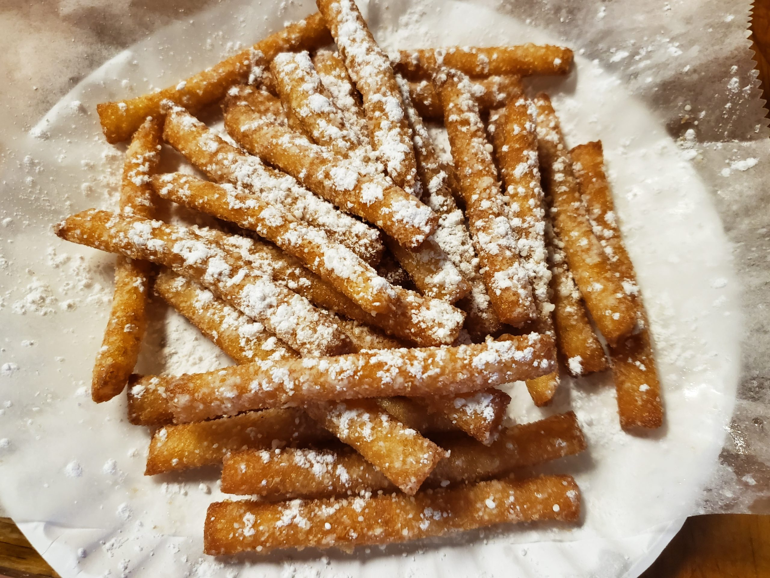 Funnel Fries Good Guys Pizza Chili,NY